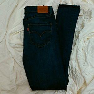 Levi s blue high Rise Jeans